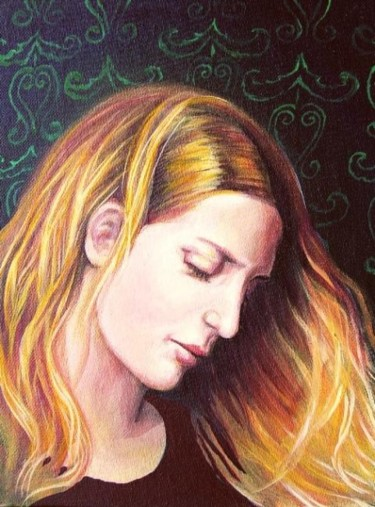 """Painting titled """"Magdalene in Deep C…"""" by Emily Balivet, Original Art, Other"""