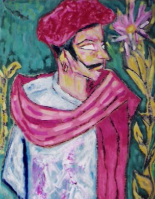 28x20 in ©2001 by Barindam Bose