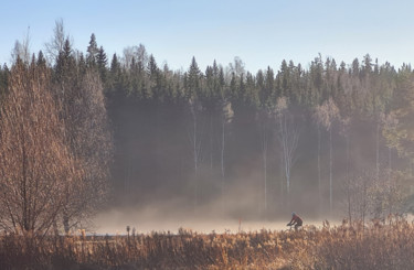 """Photography titled """"cycling through the…"""" by Barry King (CurvilinearArt), Original Art, Non Manipulated Photography"""