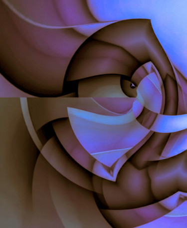 """Digital Arts titled """"I Can See You"""" by Barry King (CurvilinearArt), Original Art, Digital Painting"""