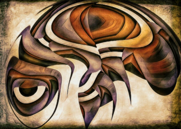 """Digital Arts titled """"Been Too Busy"""" by Barry King (CurvilinearArt), Original Art, Digital Painting"""