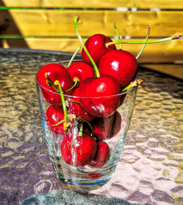"""Photography titled """"Cherries"""" by Barry King (CurvilinearArt), Original Art, Non Manipulated Photography"""