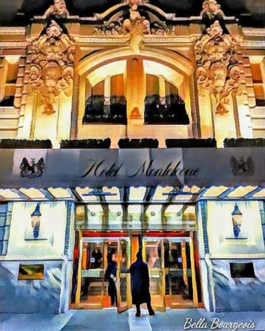 """Photography titled """"Hotel Monteleone"""" by Bella Bourgeois, Original Art, Digital Photography"""