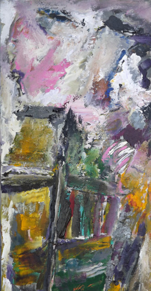 Abstract Painting, acrylic, expressionism, artwork by Claudine Gregoire (Claudine BELMAS-GREGOIRE)