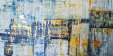 Abstract Painting, acrylic, abstract, artwork by Oussama Benabbou