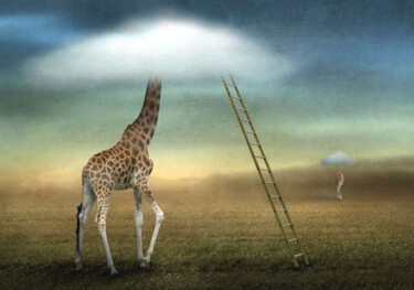 """Photography titled """"Obscured by Clouds"""" by Ben Goossens, Original Art, Manipulated Photography"""
