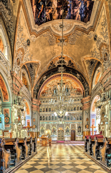 """Photography titled """"The iconostasis in…"""" by Benjamin, Original Art, Digital Photography"""