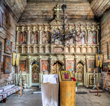 """Photography titled """"Iconostasis in an o…"""" by Benjamin, Original Art, Digital Photography"""