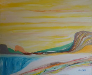 """Painting titled """"Colors of Summer in…"""" by Bennu, Original Art, Oil"""