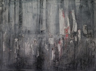 """Painting titled """"Hazy shades of wint…"""" by Bent, Original Art, Acrylic"""