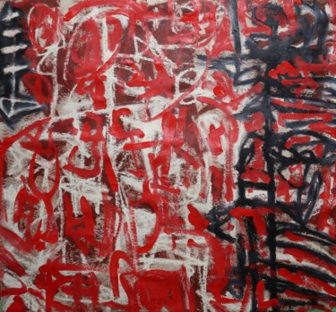 Abstract Painting, acrylic, abstract, artwork by Bent