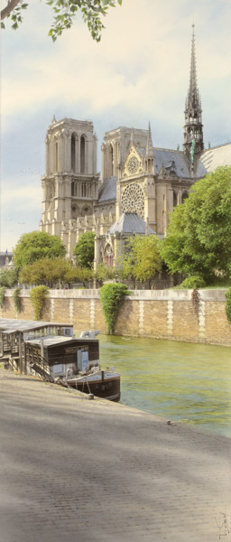 30.7x13 in ©2016 by Thierry Duval