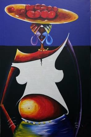 36x24 in ©2013 by Joseph Kwaw Besoabewie
