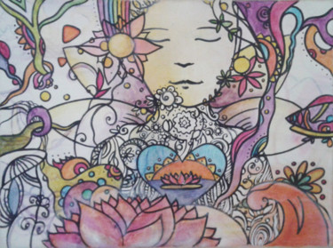 11.8x15.8 in © by Betina Marker & Kanchi