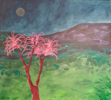 """Painting titled """"Earth 2"""" by Beverley Smith Martin, Original Art, Acrylic"""