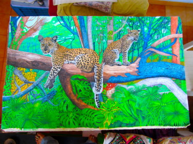35.4x63 in © by Bhagvati Nath