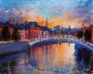 Color Painting, acrylic, impressionism, artwork by Bill O'Brien