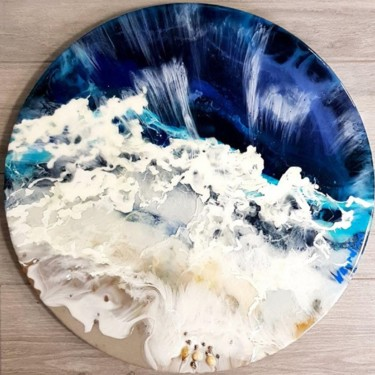 Seascape Painting, resin, figurative, artwork by Наталья Бырдина