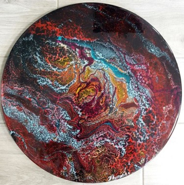 Color Painting, resin, abstract, artwork by Наталья Бырдина