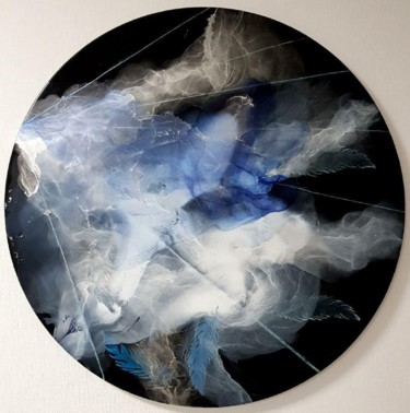 """Painting titled """"Weightlessness"""" by Наталья Бырдина, Original Art, Resin"""