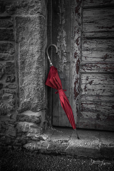 """Photography titled """"Le pépin rouge"""" by Blandine Legros, Original Art, Digital Photography"""