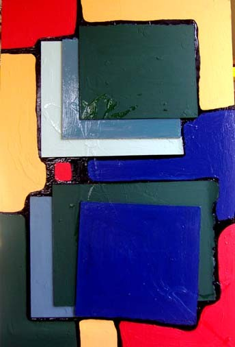 """Painting titled """"my space and mind"""" by Blandine Martin, Original Art,"""