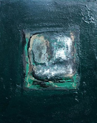 """Painting titled """"a green thought"""" by Blandine Martin, Original Art,"""