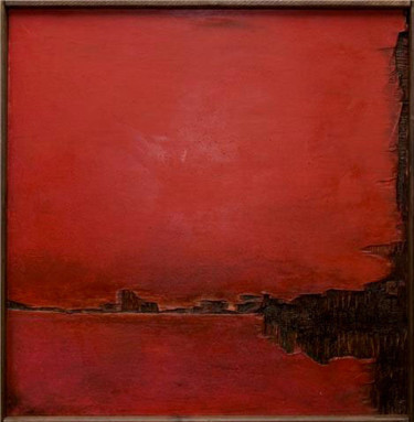 """Painting titled """"Partition"""" by Blandine Martin, Original Art,"""