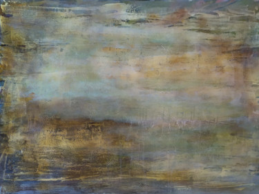 """Painting titled """"Sand"""" by Yllen Avotí, Original Art, Acrylic Mounted on Stretcher frame"""
