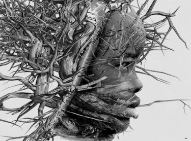 """Photography titled """"BRANCHES OF LIFE"""" by Bojan Jevtic, Original Art, Digital Photography"""