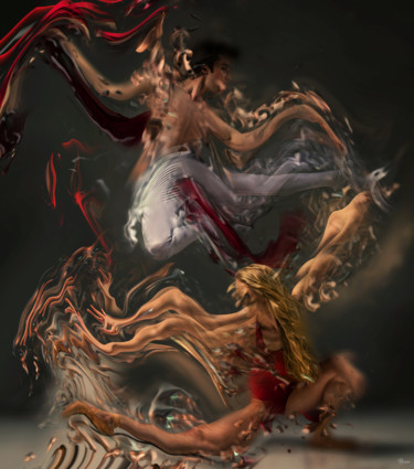 """Photography titled """"Ballet"""" by Bojan Jevtic, Original Art, Manipulated Photography"""