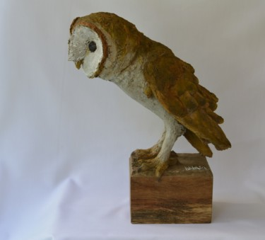 Sculpture, wood, expressionism, artwork by Barake Sculptor