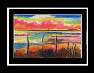 Drawing, pastel, fauvism, artwork by Boss Atelier115©