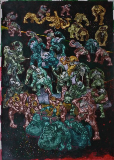55.1x39.4 in © by Jean Francois Bottollier