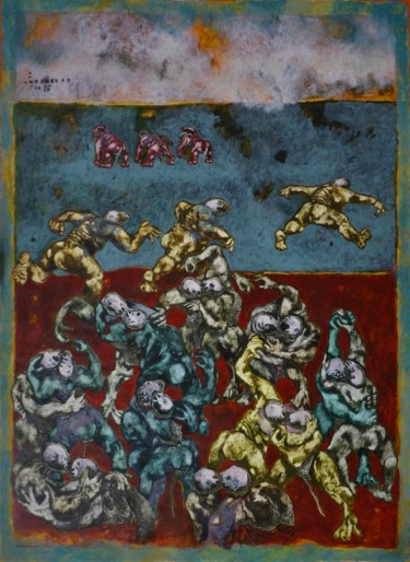 59.1x43.3 in ©2017 by Jean Francois Bottollier
