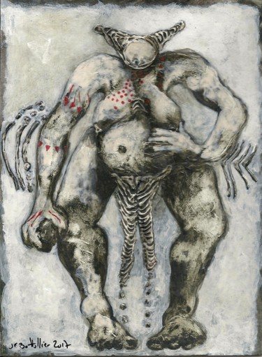 8.7x6.3 in ©2017 by Jean Francois Bottollier
