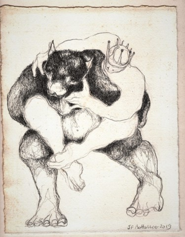 9.8x7.9 in ©2019 by Jean Francois Bottollier