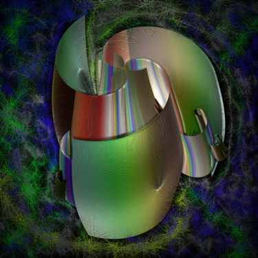 Abstract Digital Arts, digital painting, abstract, artwork by Thierry Boussion