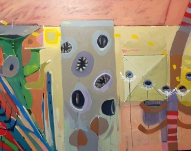 """Painting titled """"Untitled 3"""" by Brendan Walsh, Original Art, Acrylic"""