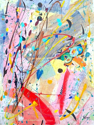 """Painting titled """"Abstract 07 """"Untitl…"""" by Bronwen Evans, Original Art, Acrylic"""