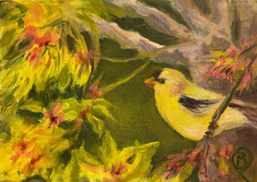 Painting, oil, impressionism, artwork by B.Rossitto
