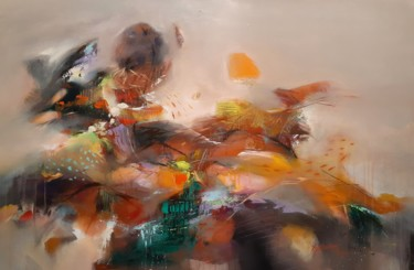 Painting, acrylic, abstract, artwork by Hichem Ben Sghaier