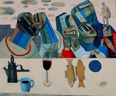 """Painting titled """"PASSOVER"""" by Sergey Bunkov, Original Art,"""