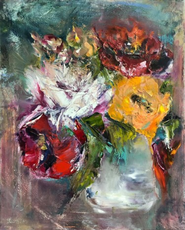 """Painting titled """"Emotions"""" by Olha Stasiuk, Original Art, Oil"""