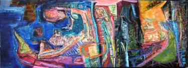 """Painting titled """"Chromatic world / M…"""" by Christopher Foster, Original Art, Oil"""