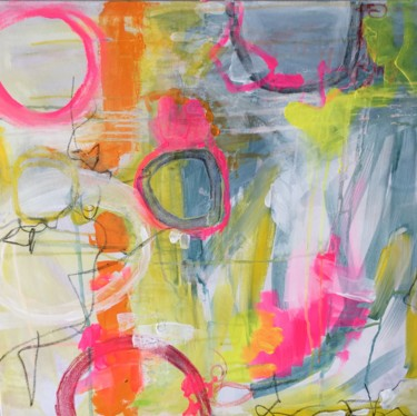 Abstract Painting, acrylic, abstract, artwork by Christiane Reisert