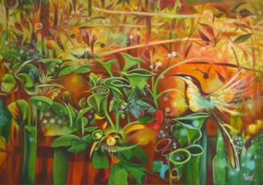 """Painting titled """"Spring"""" by Jorge Calero, Original Art, Acrylic"""