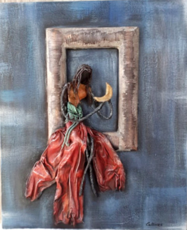 Fairytale Painting, wire, figurative, artwork by Calliope Konsta