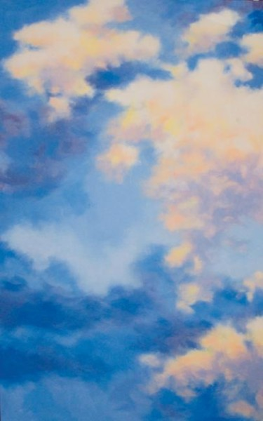 """Painting titled """"Rising clouds"""" by Carl Conway, Original Art, Oil"""