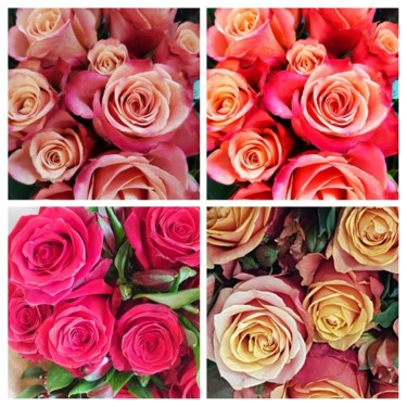 """Photography titled """"Roses (collage) - 2…"""" by Carlos Vieira, Original Art, Non Manipulated Photography"""